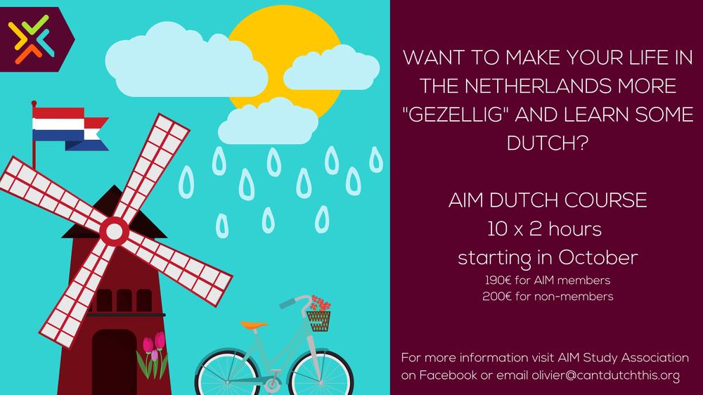 AIM Dutch course