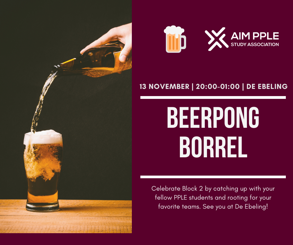 Beer Pong Borrel